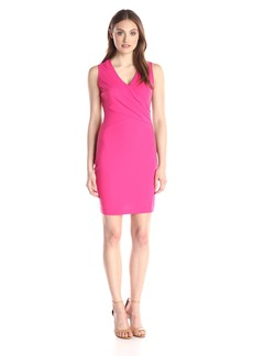 NYDJ Women's Demi Matte Jersey Fitted Sheath Dress
