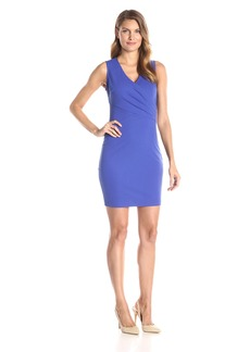 NYDJ Women's Demi Matte Jersey Fitted Sheath Dress with Slimming Fit Solution
