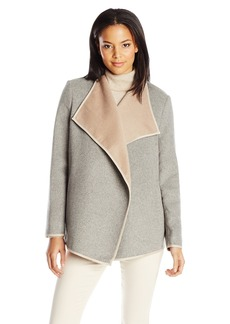 Not Your Daughter's Jeans NYDJ Women's Drape Front Coat  Large