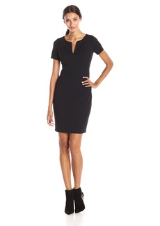 NYDJ Women's Elenor Origami Seam Dress In