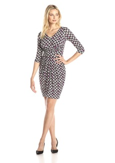 NYDJ Women's Elizabeth Wrap Dress