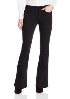 NYDJ Women's Farrah Flare Pants In Forever Black Denim
