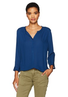 Not Your Daughter's Jeans NYDJ Women's Frayed Edge Blouse