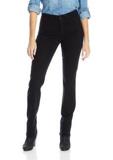 NYDJ Women's Hayden Straight Leg Jeans Black