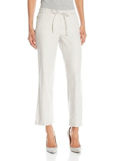 NYDJ Women's Jamie Relaxed Ankle Pants in Novelty Linen