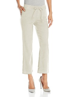 Not Your Daughter's Jeans NYDJ Women's Jamie Relaxed Ankle Pants In Stretch Linen