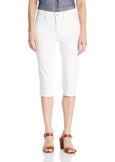 Not Your Daughter's Jeans NYDJ Women's Kaelin Skimmer Shorts In Colored Bull Denim  14