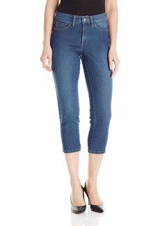 NYDJ Women's Alina Capri Jeans In Premium Lightweight Denim