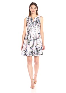 NYDJ Women's Lana Cotton Voile Dress