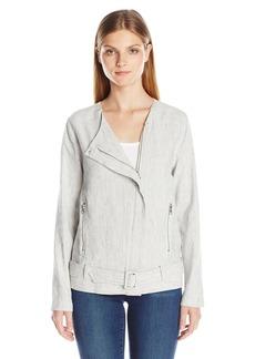 Not Your Daughter's Jeans NYDJ Women's Linen Moto Jacket