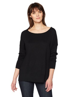NYDJ Women's Long Sleeve Sweater with Exposed Seams  XS