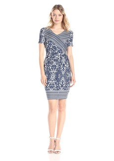 Not Your Daughter's Jeans NYDJ Women's Maricella Aztec Wrap Dress