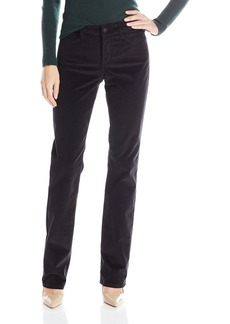 Not Your Daughter's Jeans NYDJ Women's Marilyn Straight Corduroy Pants Black
