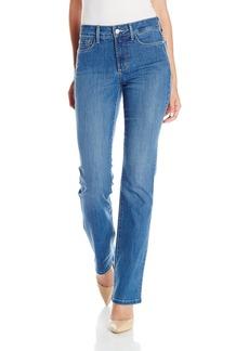 NYDJ Women's Marilyn Straight Jeans in Cool Embrace Denim