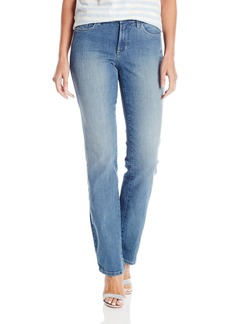 NYDJ Women's Marilyn Straight Jeans with Back Pocket Detail