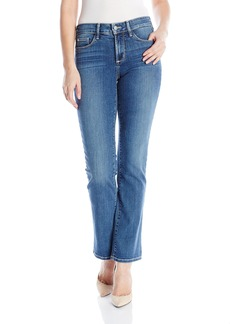 NYDJ Women's Marilyn Straight Leg Jeans with Short Inseam