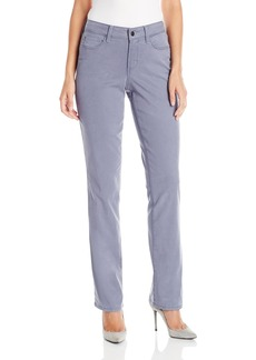 NYDJ Women's Marilyn Straight Pants in Colored Chino Twill  2