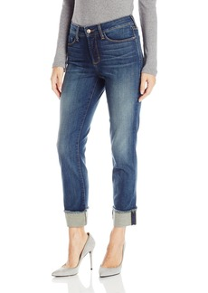 NYDJ Women's Marnie Boyfriend Jeans with Frayed Cuff