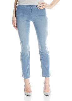 NYDJ Women's Millie Ankle Jeans Indigo Knit
