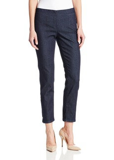 Not Your Daughter's Jeans NYDJ Women's Alina Pull On Ankle Jeans Dark Enzyme