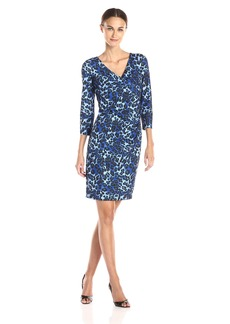 NYDJ Women's Monique Cheetah Print Dress