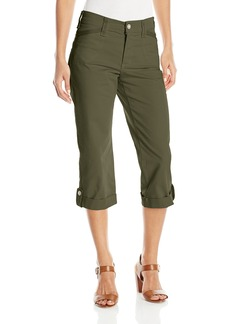 Not Your Daughter's Jeans NYDJ Women's Morgan Utility Crop Jeans in Peached Twill Denim
