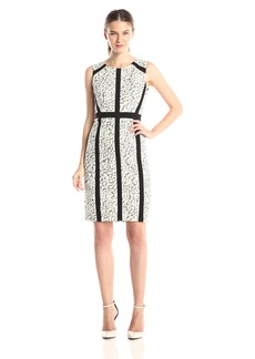 NYDJ Women's Nora Animal Jacquard Dress