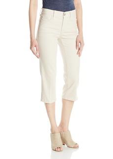 NYDJ Women's Novelty Ariel Crop Jeans Clay-Hem Embroidery