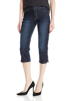 NYDJ Women's Novelty Ariel Crop Jeans Hollywood Wash-Side Slit