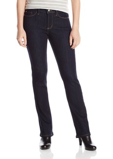 NYDJ Women's Petite Billie Mini Bootcut Jeans In Dual FX Indigo Denim
