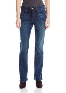 NYDJ Women's Petite Billie Mini Bootcut Jeans In Stretch Indigo Denim  16 Petite