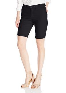 NYDJ Women's Petite Briella Roll Cuff Jean Shorts In Colored Bull Denim