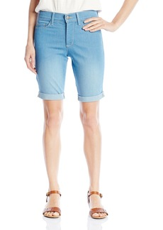 Not Your Daughter's Jeans NYDJ Women's Size Briella Shorts in Light Dip Denim