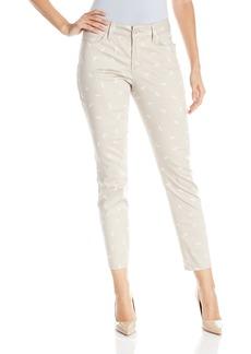 NYDJ Women's Petite Clarissa Skinny Ankle Jeans Dragonfly-Stone 4P