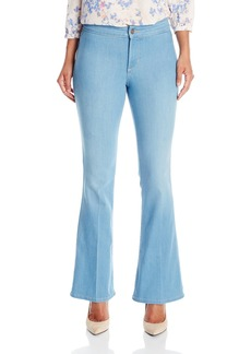 Not Your Daughter's Jeans NYDJ Women's Petite Farrah Flare Jeans In Sky Blue Denim  10 Petite