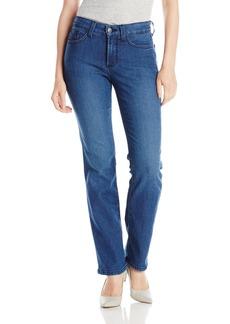 NYDJ Women's Petite Hayley Straight Jeans  8P