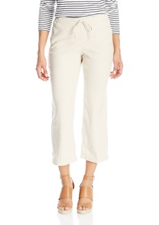 NYDJ Women's Petite Jamie Relaxed Ankle Pants in Stretch Linen  0 Petite