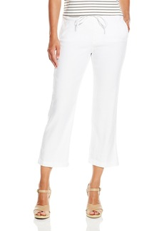 Not Your Daughter's Jeans NYDJ Women's Petite Jamie Relaxed Ankle Pants in Stretch Linen  10 Petite