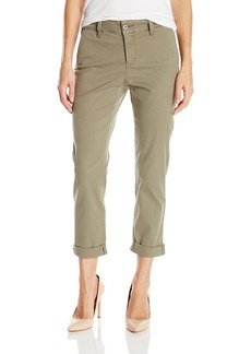 NYDJ Women's Petite Riley Relaxed Trousers in Lightweight Chino Twill