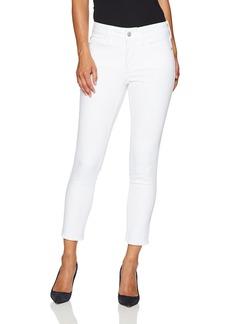 NYDJ Women's Petite Size Alina Skinny Ankle Jeans with Frayed Hem  14P