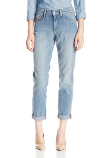 Not Your Daughter's Jeans NYDJ Women's Petite Sylvia Relaxed Boyfriend Jeans In Core Indigo Denim