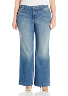 Not Your Daughter's Jeans NYDJ Women's Plus Size Addison Wide Leg Jeans  18W