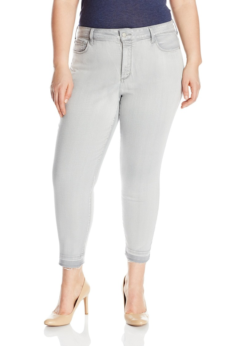 Not Your Daughter's Jeans NYDJ Women's Plus Size Alina Skinny Ankle Jeans with Released Hem