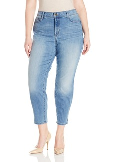 NYDJ Women's Plus Size Alina Skinny Convertible Ankle Jeans In Cool Embrace