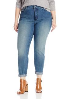 Not Your Daughter's Jeans NYDJ Women's Plus-Size Anabelle Skinny Boyfriend Jeans In Core Indigo Denim  18W