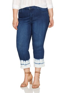 NYDJ Women's Plus Size Billie Ankle Bootcut Jeans In Sure Stretch Denim