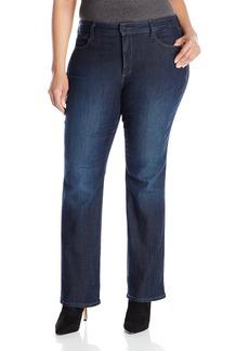 NYDJ Women's Plus Size Billie Mini Bootcut Jeans