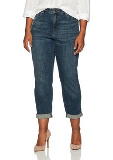 NYDJ Women's Plus Size Boyfriend Jeans