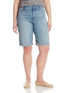 NYDJ Women's Plus-Size Briella Roll Cuff Shorts In  16W