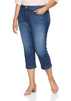 NYDJ Women's Plus Size Capri with Released Hem  20W